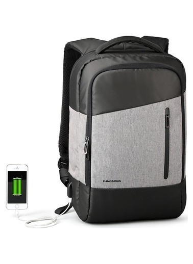 Mcstorey Kingsons MacBook Air Retina Pro Laptop Sırt Çanta Kılıf Koruma 15 16inç Usb Su Geçirmez KS3051W Renkli